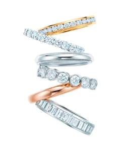 Tiffany wedding band fedi nuziali