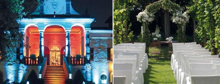 Villa Calini, l'arte del ricevimento