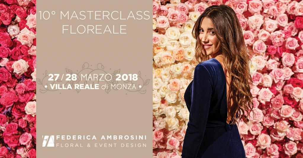 Federica Ambrosini - corso di composizione floreale