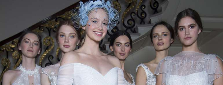 Jenny Packham: la collezione 2019 al Ritz di Londra