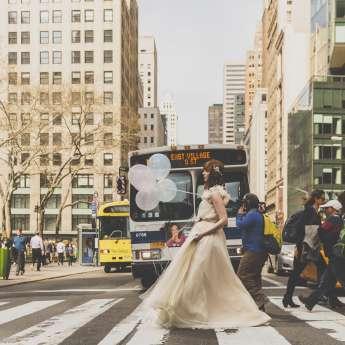 Keep calm and enjoy the New York bridal fashion week