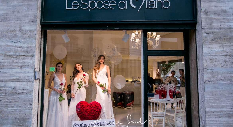 Le Spose di Milano presentano in esclusiva Rosa Clará