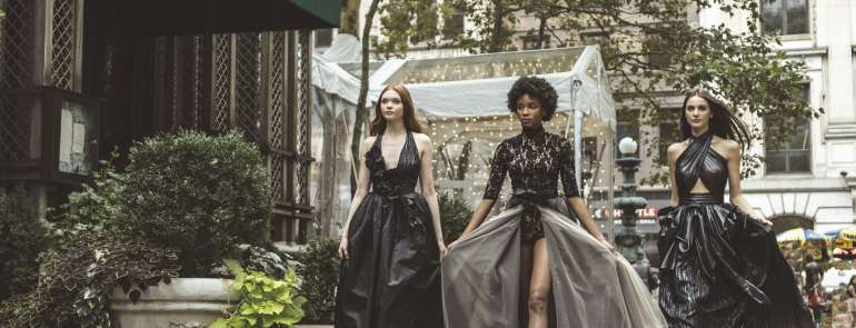 Una Capsule Collection, omaggio a New York, per Elisabetta Polignano