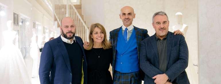 Un trunk show d'autore alle Spose di Milano