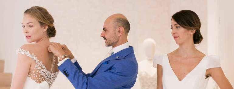 Il Trunk Show di Enzo Miccio a Le Spose di Milano