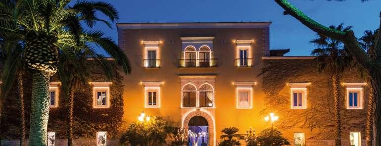 Villa Carafa, sfarzo e ricercatezza in Puglia