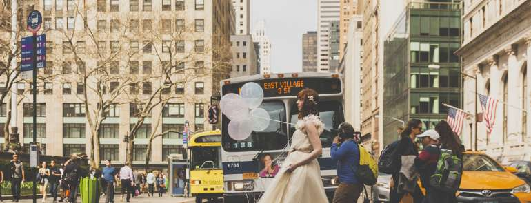 Keep calm and enjoy the New York bridal fashion week
