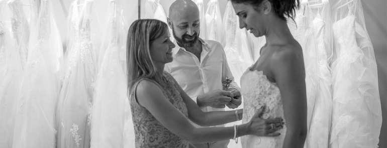 Altamarea Atelier: qualità e servizio dedicati alle spose