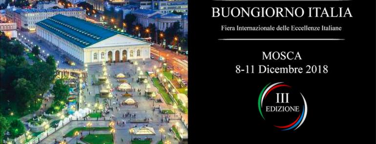 Buongiorno Italia: Mosca, Russia  8-11 Dicembre