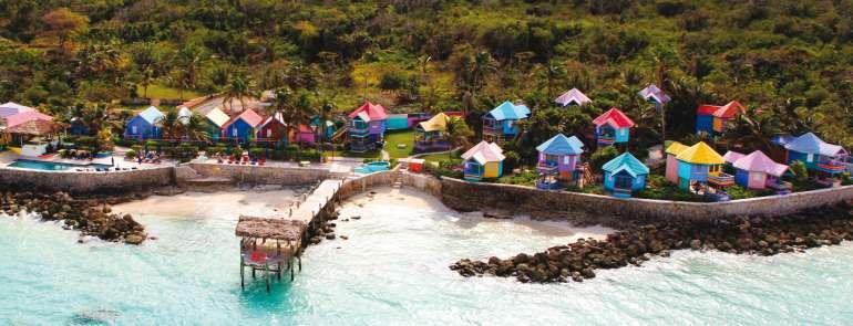 La tavolozza Bahamas