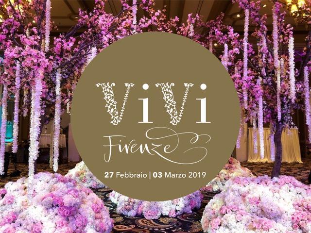 """""""VIVI"""" Firenze: dal 27 Febbraio al 3 Marzo 2019, l'evento dedicato a wedding planner e floral designer."""