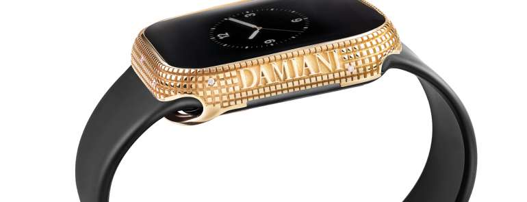 Damiani. Un accessorio prezioso per l'Apple Watch