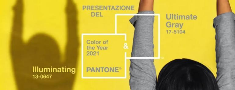 I colori Pantone per il 2021