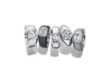 L'anello di fidanzamento da uomo di Tiffany & Co.