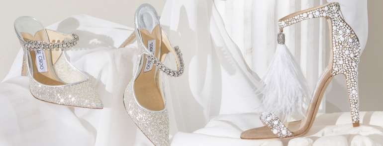 Jimmy Choo, la scarpa per la sposa che ama distinguersi